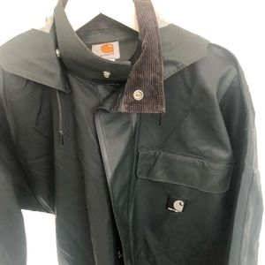 Carhartt hooded rain jacket